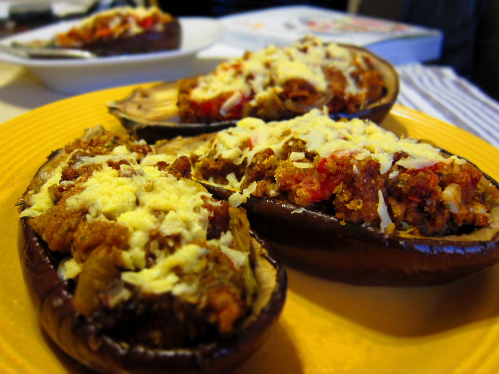 ... sausage stuffed sausage stuffed eggplant sausage and eggplant stuffed