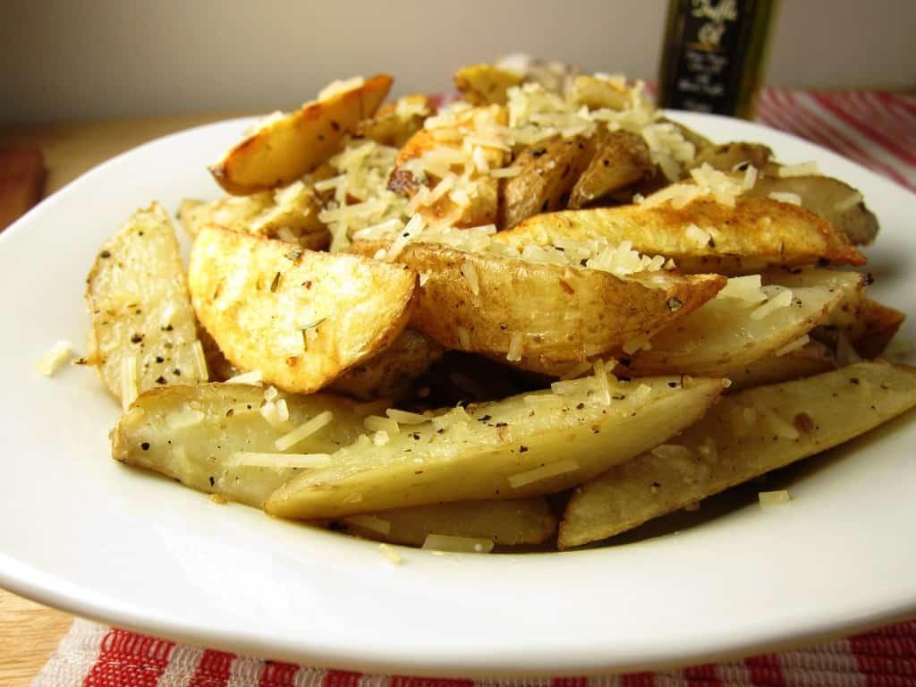 parmesan truffle potato