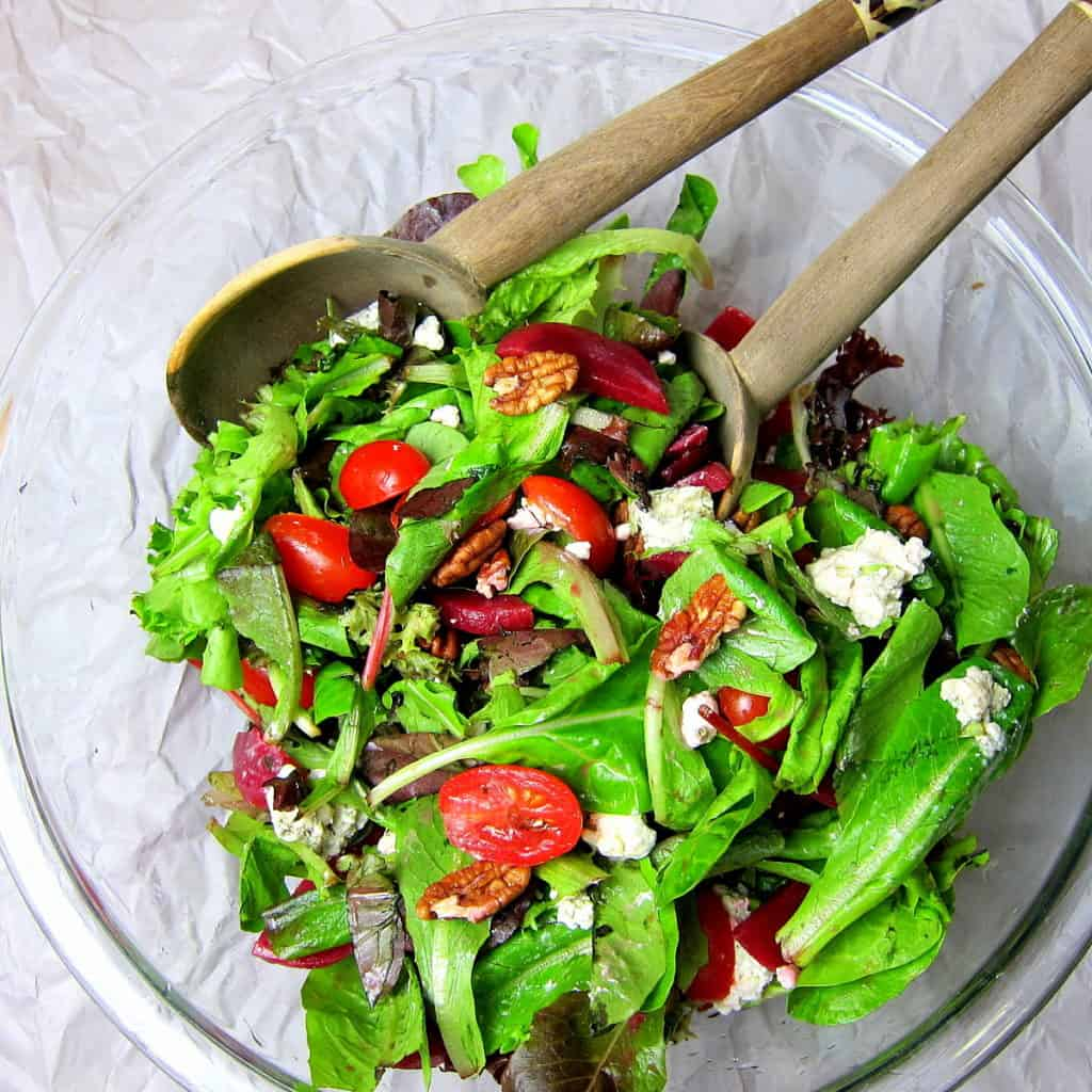 Beet And Blue Cheese Salad With Citrus Vinaigrette