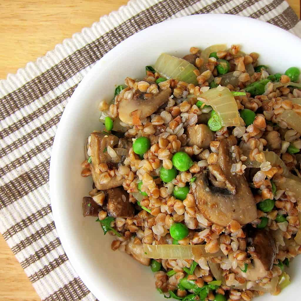 Buckwheat Kasha with Mushrooms and Onions - 20 Minute Side ...
