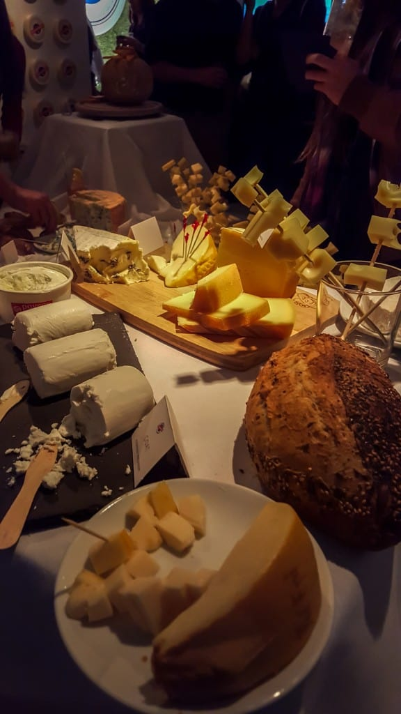 cheese and cocktails