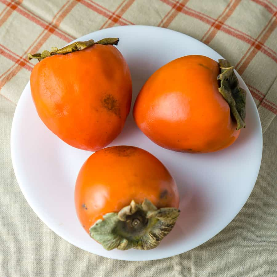 how to eat a persimmon