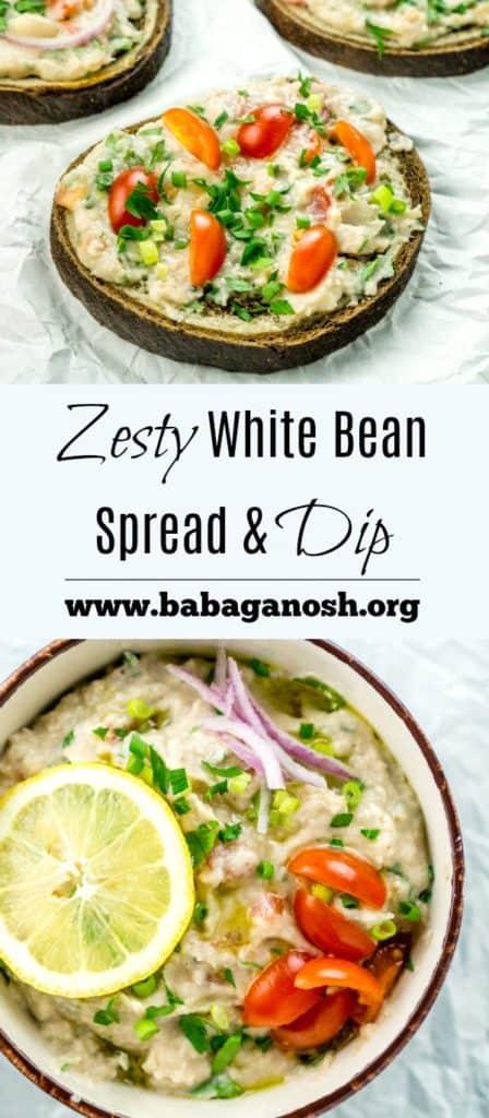 Zesty White Bean Spread