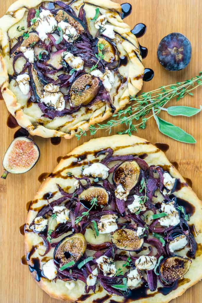 Caramelized Onion, Fig, and Goat Cheese Flatbreads ...