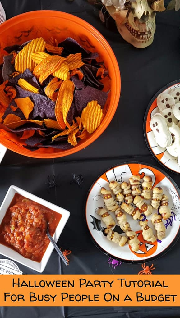 Halloween Party Tutorial for Busy People on a Budget - from www.babaganosh.org