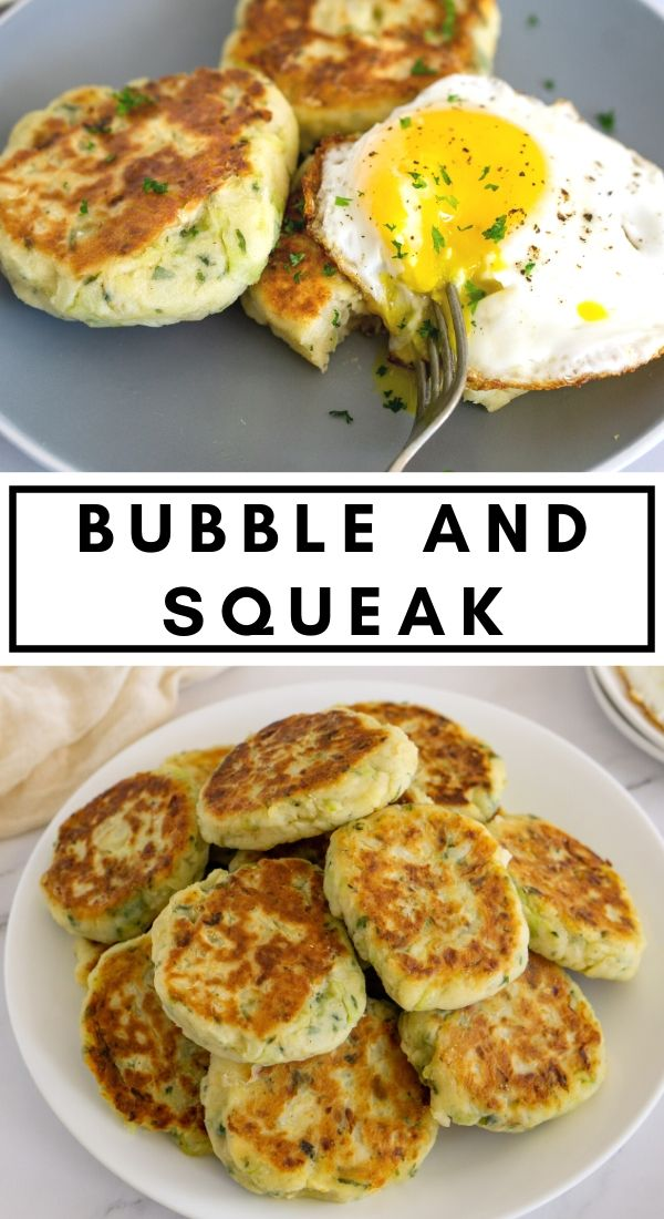 bubble and squeak pinterest graphic