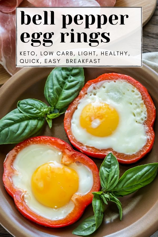 bell pepper egg rings - eggs in a hole pinterest graphic