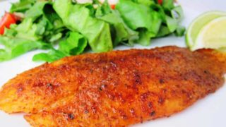 10 Minute Chili Lime Swai Fillets - Great for Fish Tacos!
