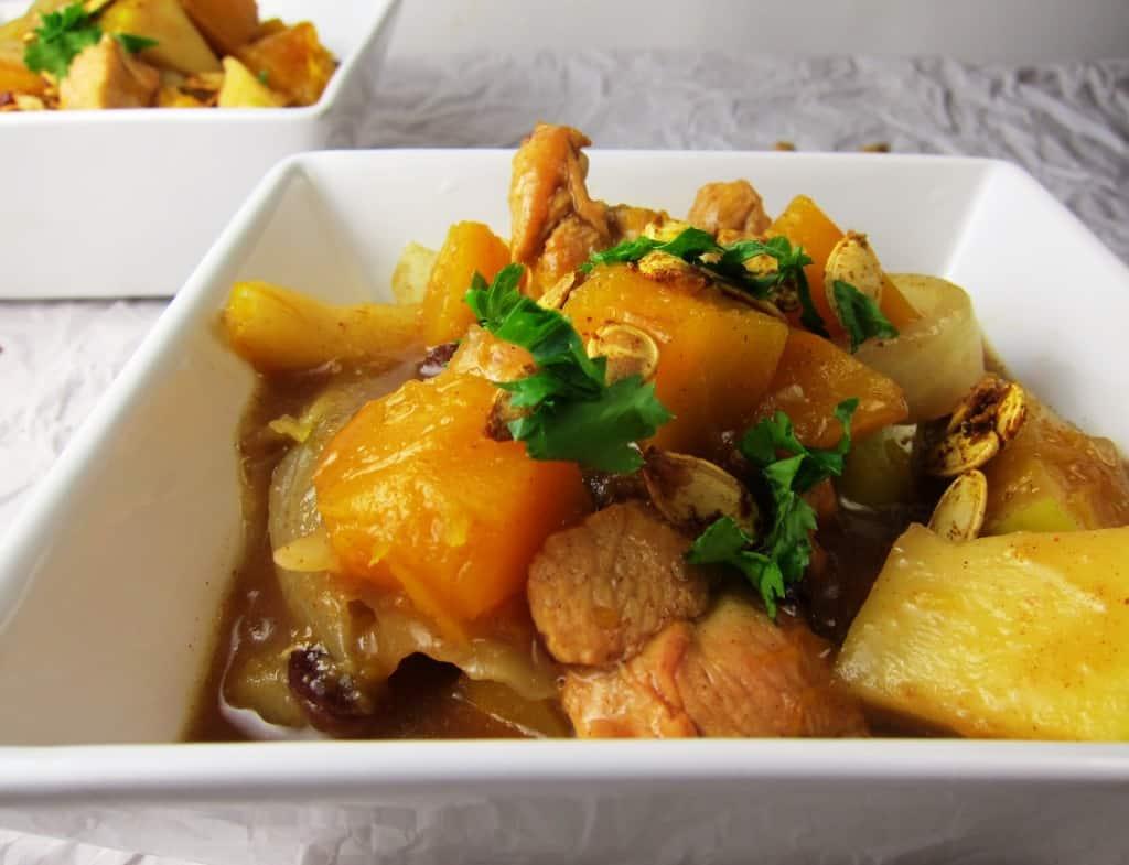 chicken Moroccan stew