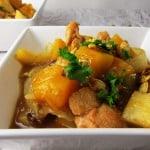 Moroccan Chicken Stew with Pumpkin