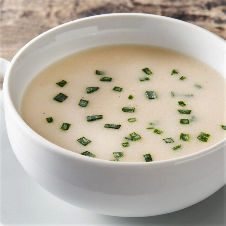 creamy potato turnip soup
