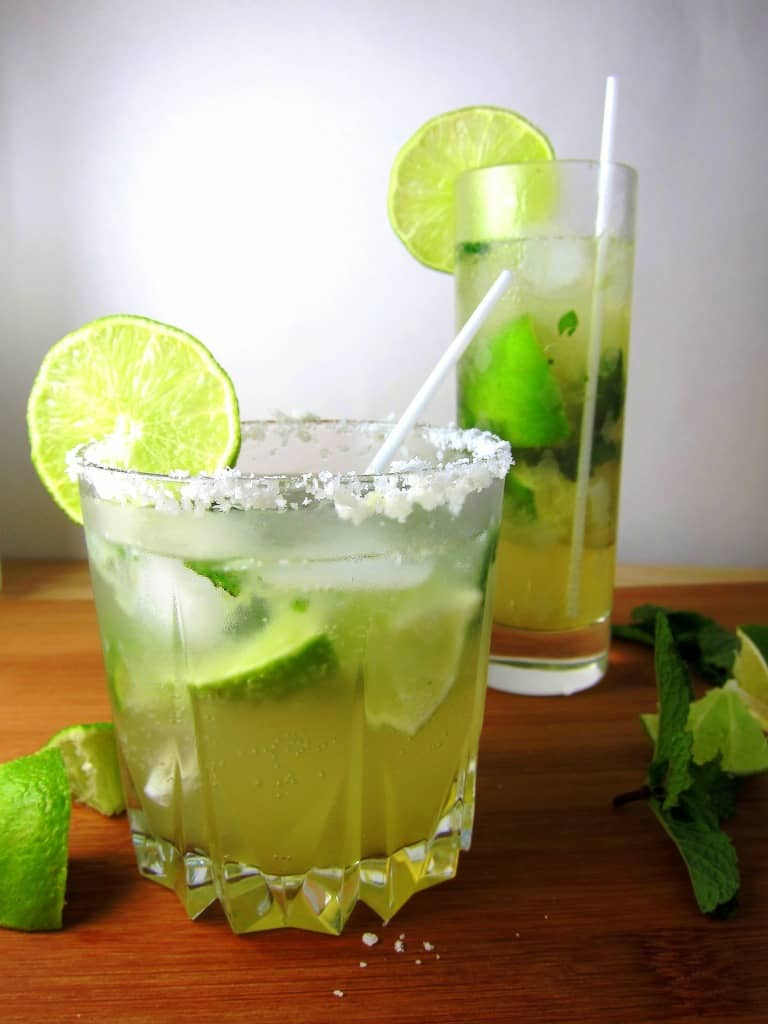 Coconut Mojitos with Agave