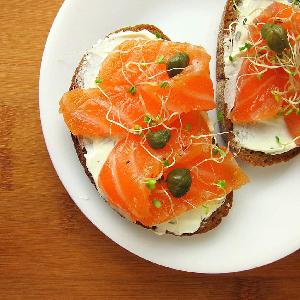 how to cure salmon lox recipe babaganosh