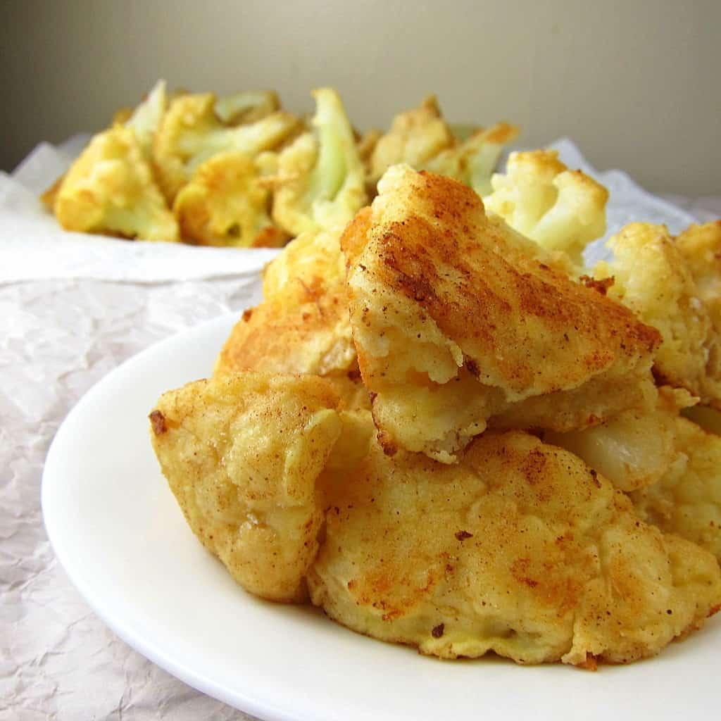 Pan Fried Cauliflower Florets Recipe