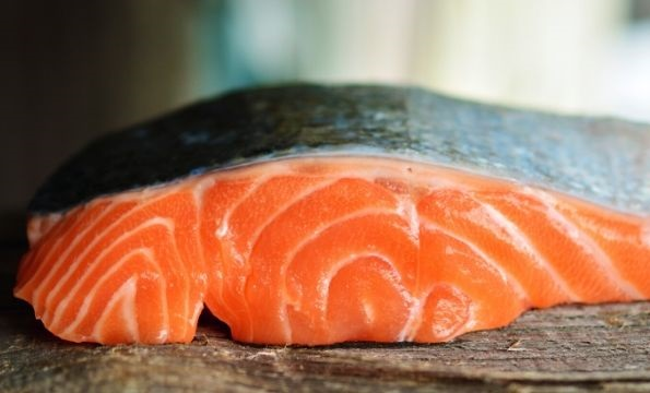 salmon fillet for making lox