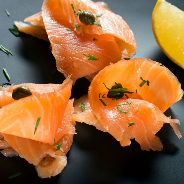 sliced lox