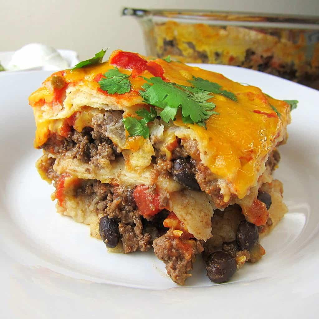 Mexican Lasagna Recipe: 30 Minute Mexican Lasagna Recipe