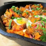 image of Pulled Pork Sweet Potato Hash