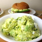 avocado egg salad - green eggs and ham sandwich