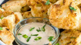 Crispy Pan Fried Cauliflower Recipe