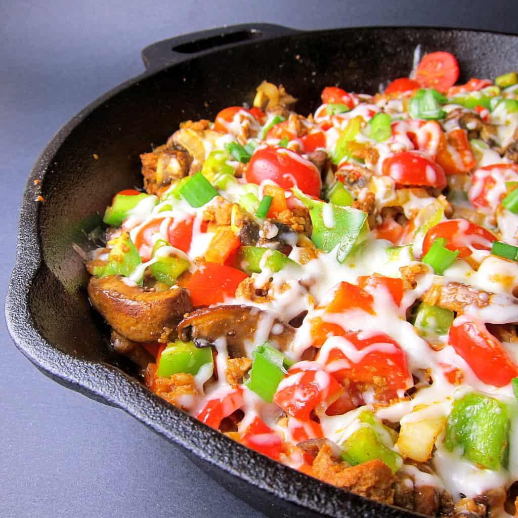 Chorizo fiesta skillet