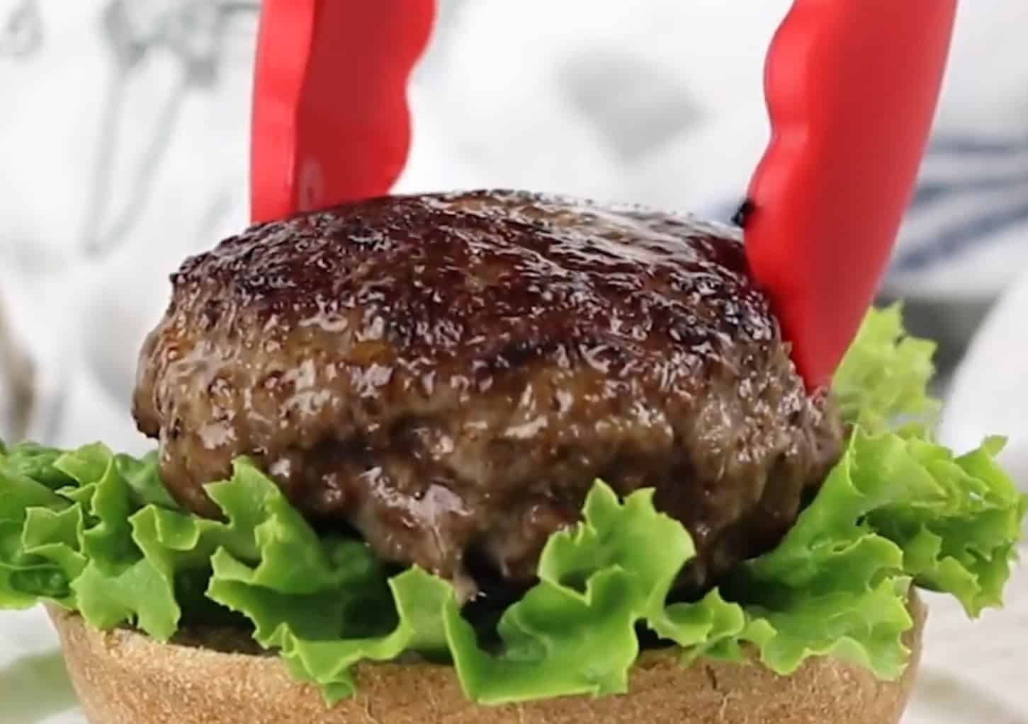 How to make hamburger patties with deer meat