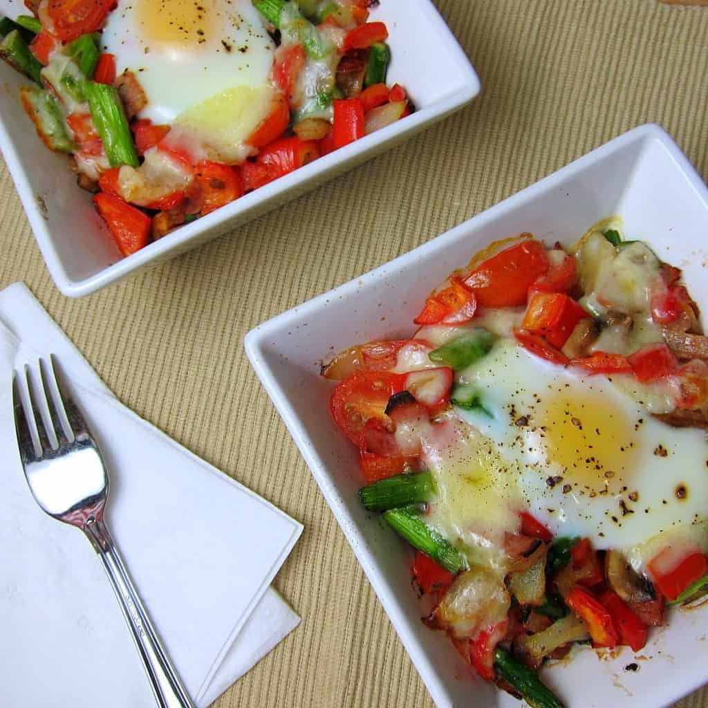breakfast veggie bake surprise