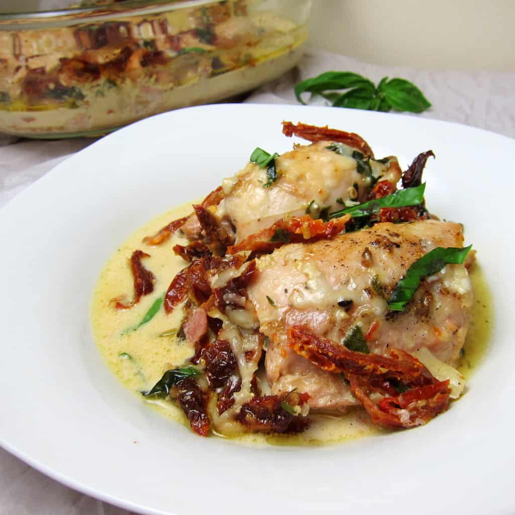 Chicken with Sun-dried Tomato