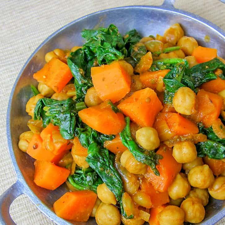 ethiopian chickpeas - vegetarian ethiopian recipe