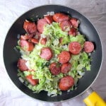 Kielbasa and Cabbage Stir Fry