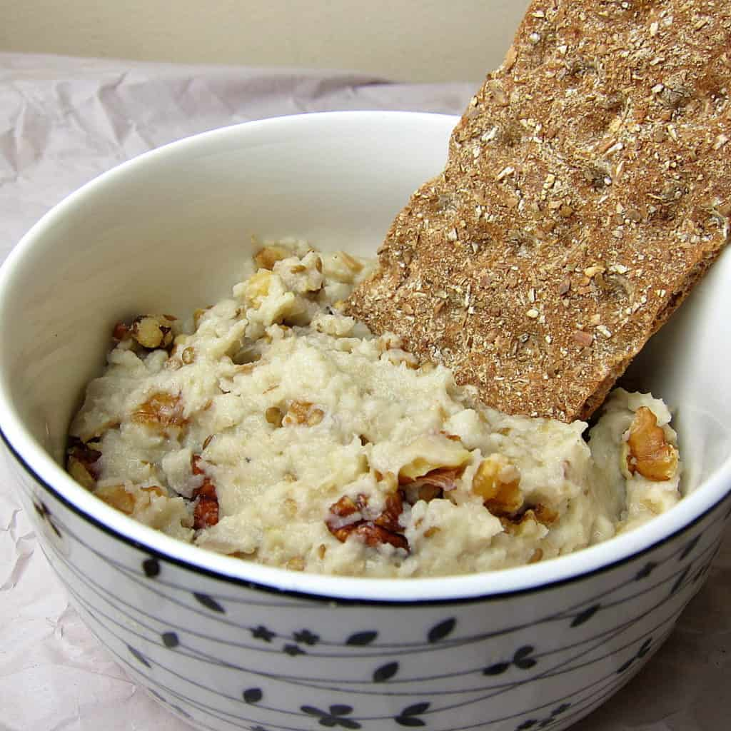 walnut baba ganoush