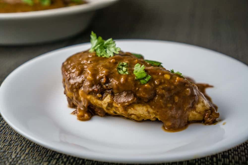 Chicken with Mole Sauce