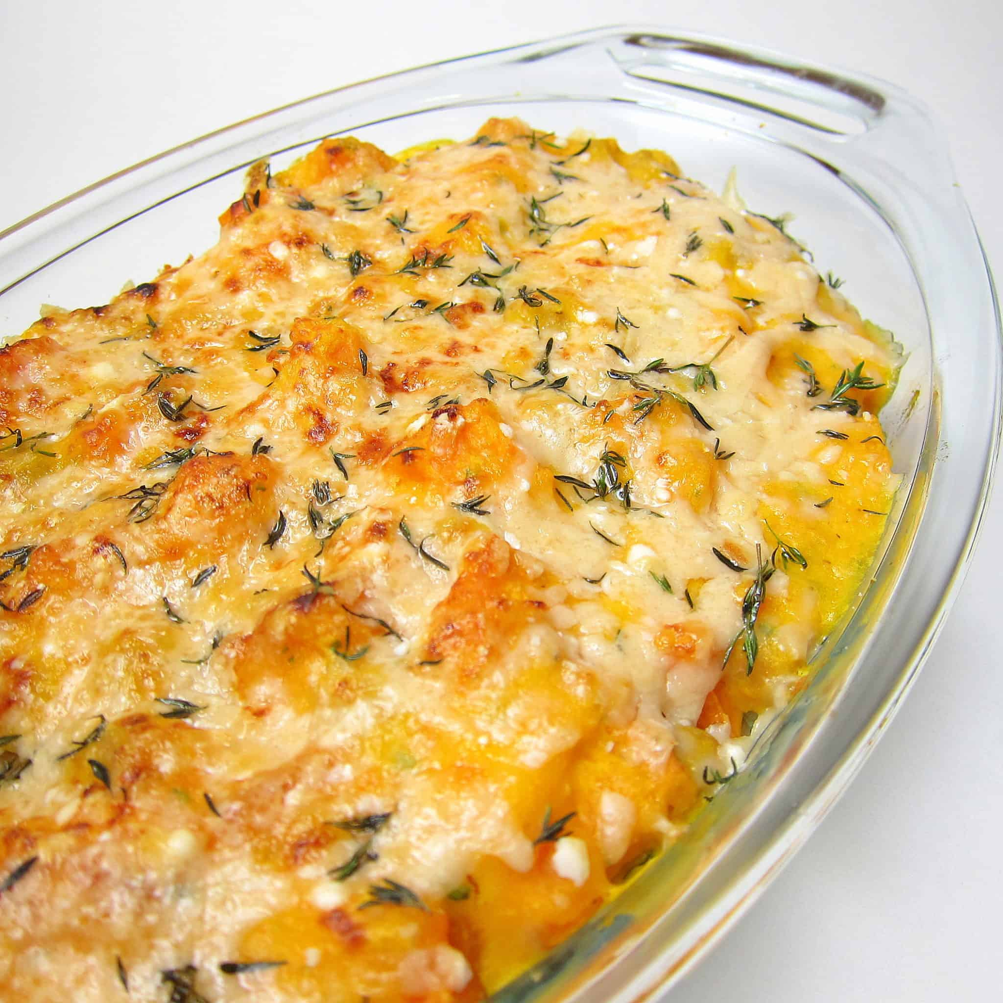 thanksgiving chickpeas and butternut squash Thanksgiving casserole