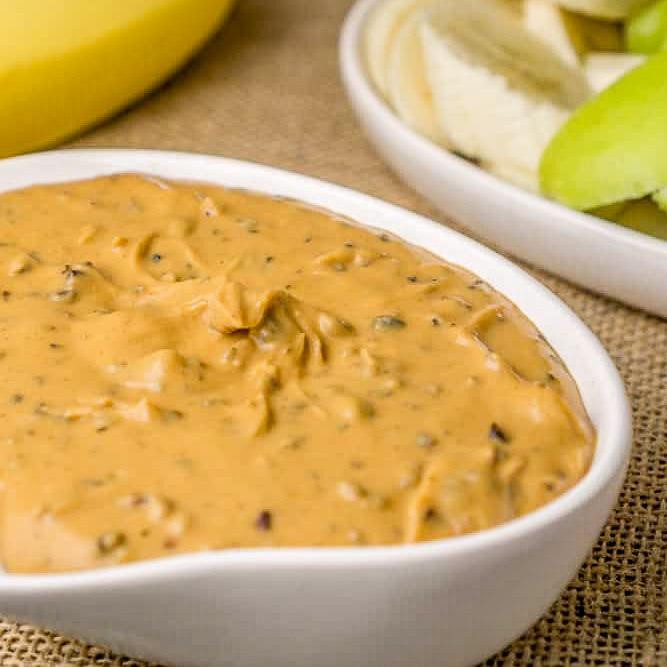skinny peanut powder dip