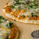 naan tikka masala pizza