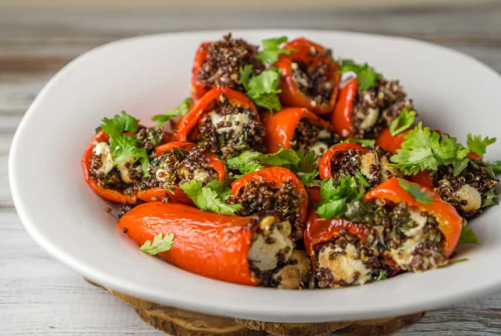 Stuffed Mini Bell Peppers