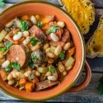 slow cooker cassoulet - Babaganosh.org