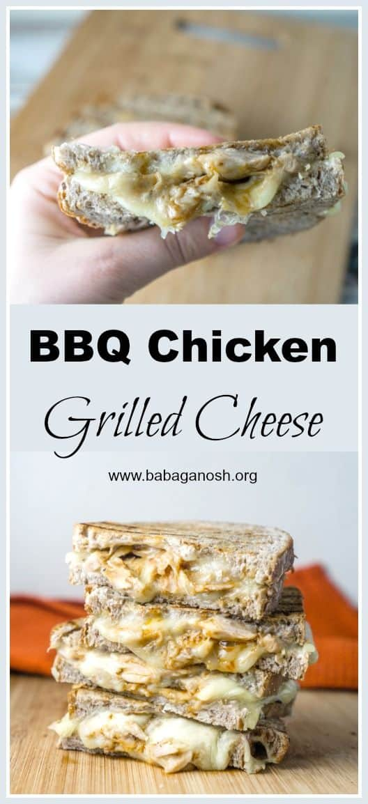 BBQ Chicken Grilled Cheese Sandwich photos for Pinterest