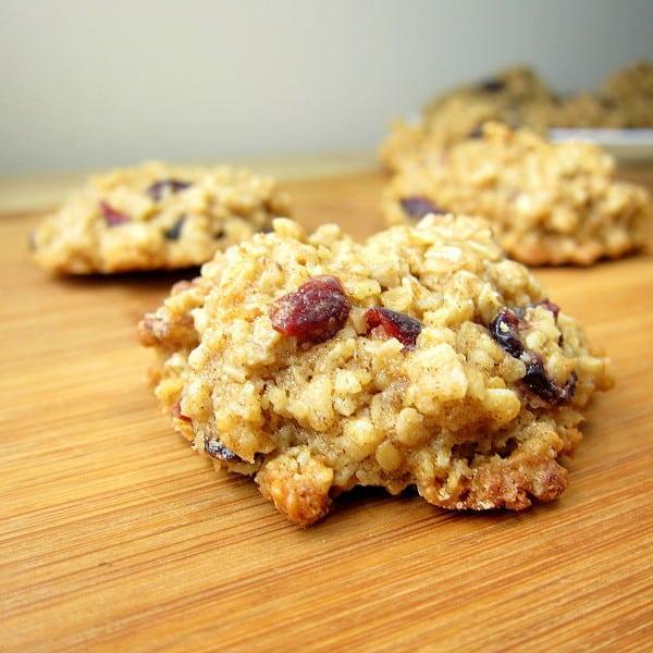 Oatmeal Craisin Pecan Cookies