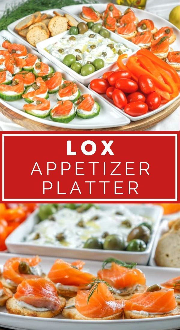 lox appetizer platter pinterest graphic