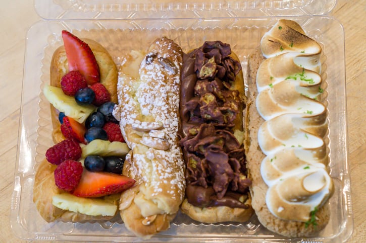 eclair making class in montreal