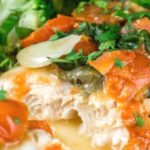 swai fillets in tomato caper sauce pinterest graphic