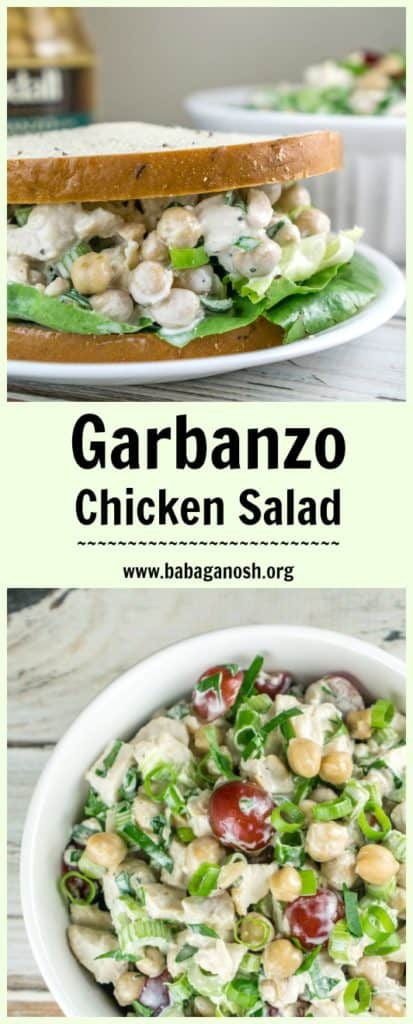 Back To School Garbanzo Chicken Salad Babaganosh