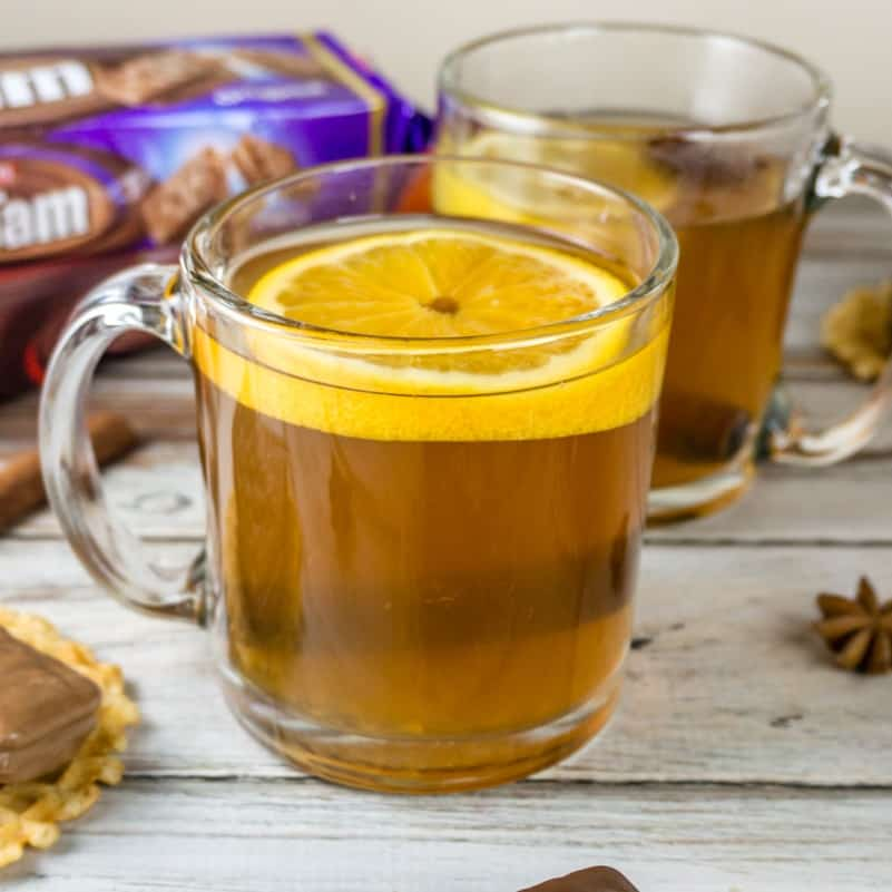 hot spiced tea recipe