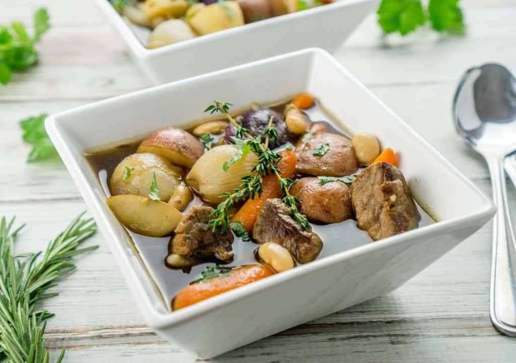 Image of white bean irish stew