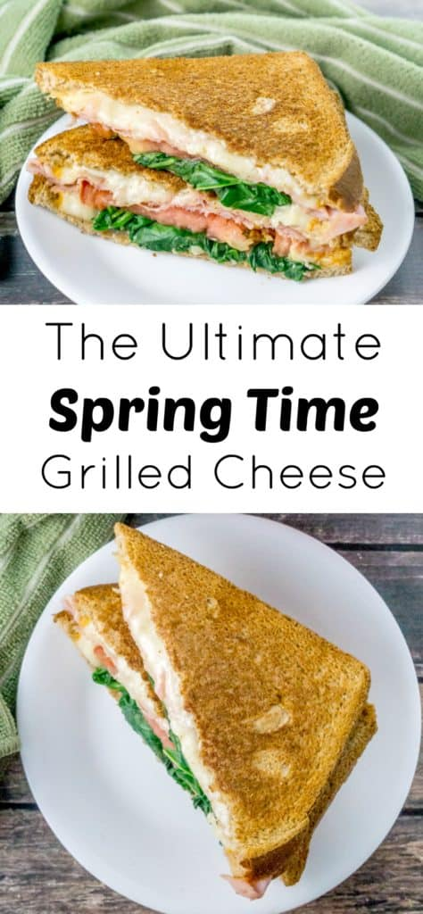 The Ultimate Grilled Cheese Sandwich made with just 6 wholesome, delicious ingredients, is sure to be everyone's favorite!