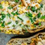 Stuffed Cheesy Chicken Ciabatta - 15 minute recipe!