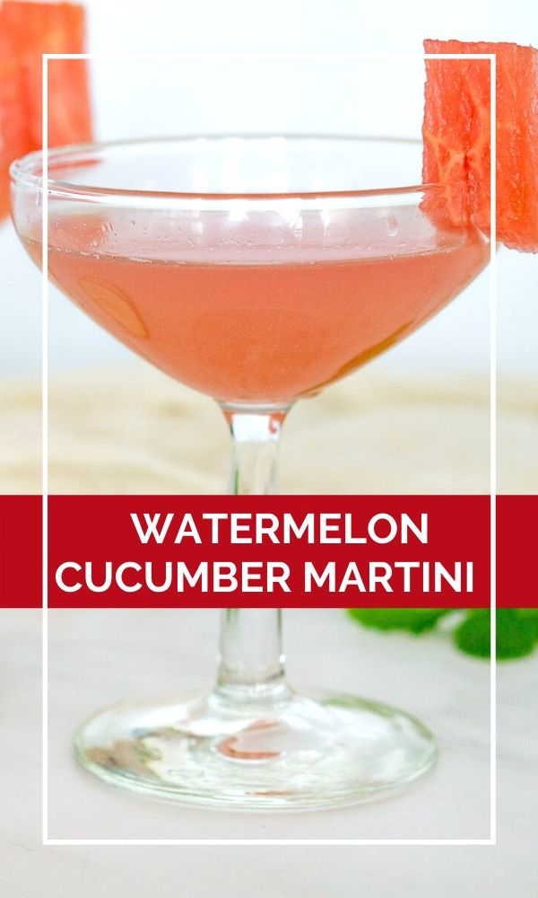 watermelon martini pinterest graphic