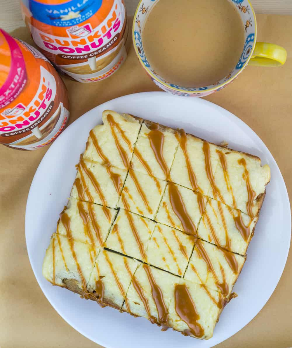 Cinnamon Butterscotch Blondies with Cream Cheese Topping | Babaganosh.org