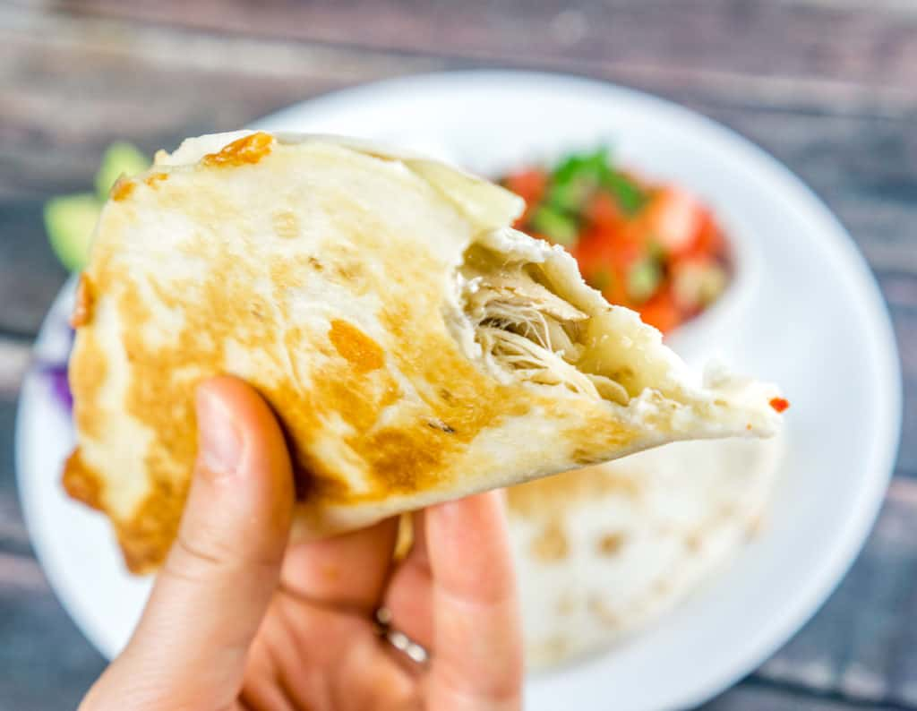 Mini Chicken Quesadillas